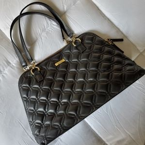 Kate Spade Black Quilted Leather Purse